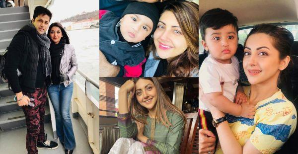 Moomal Khalid With Her Husband and Son – Latest Pictures