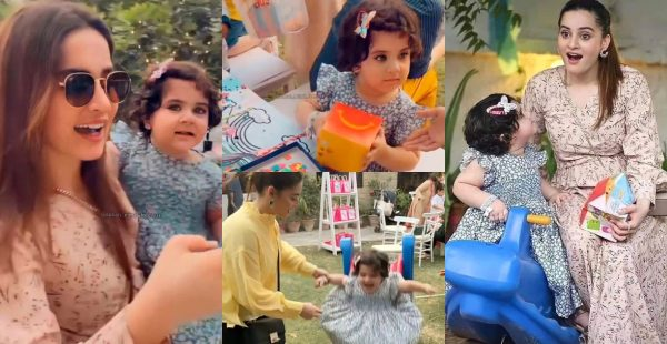 Aiman Khan with her Daughter Amal Muneeb – Latest Clicks