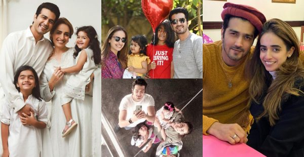 Beautiful Family Pictures of Actor Shahzad Sheikh