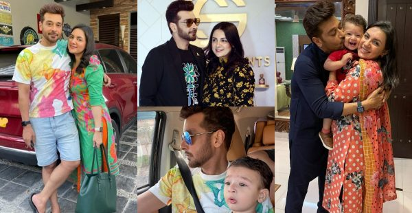 Faisal Qureshi Latest Beautiful Clicks with Family
