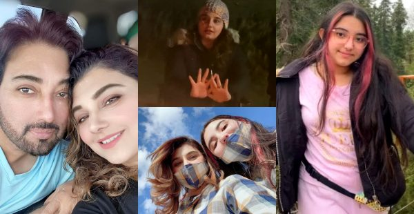 Javeria and Saud with Family Vacationing In Nathia Gali – Pictures and Video