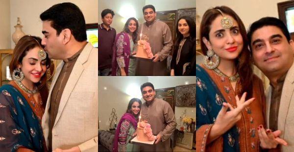 Nadia Khan's Birthday Pictures and Video Log