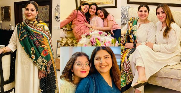 Senior Actress Shagufta Ejaz with her Daughters – Adorable Pictures