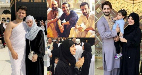 Celebrities Shared Throwback Pictures From Their Umrah and Hajj