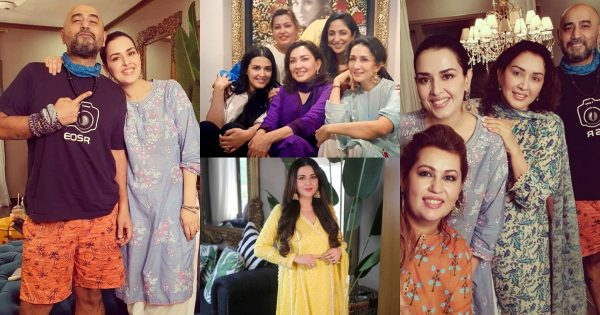 Makeup Artist Natasha Khalid Beautiful Pictures with her Family