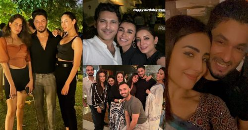 Beautiful Celebrities Pictures from Fashion Model Sona Rafiq's Birthday Party