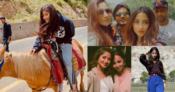Unseen Pictures of Sajal Ali From Northern Areas