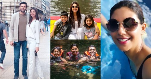 Sunita Marshall Enjoying her Quality Time with her Family in Maxico USA