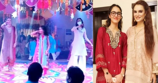Nadia Hussain Dancing With Her Daughters in a Wedding – Video and Comments