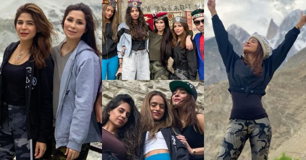 Ayesha Omar Enjoying Her Vacations with Friends in Gilgit Baltistan