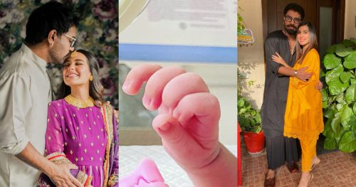 Iqra Aziz and Yasir Hussain Blessed With A Baby Boy