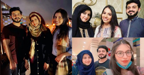 Syeda Bushra Latest Pictures with her Daughter and Son