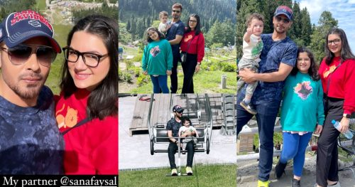 Faysal Quraishi Enjoying Vacations with Family in Swat