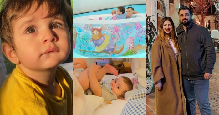 Naimal Khawar Shared Some Pictures of Mustafa Abbasi On His First Birthday