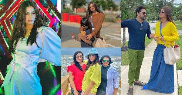 Beautiful Pictures of Hira Mani with her Family from USA