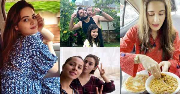 Celebrities Enjoying First Spell of Monsoon – Pictures and Videos