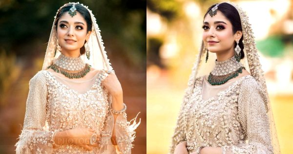 Noor Zafar Khan Looks Like Gorgeous in her Recent Bridal Photoshoot