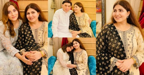 Shagufta Ejaz Eid Pictures With Her Family