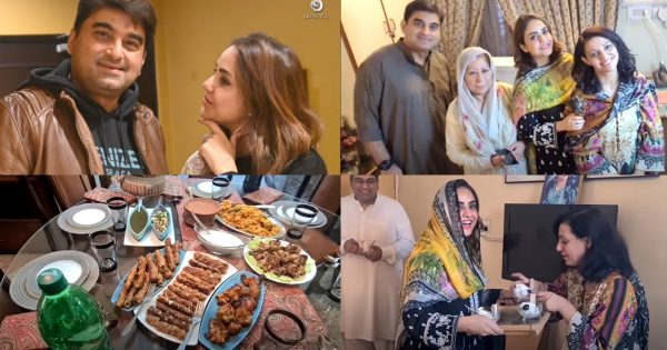 Nadia Khan Visits to her Susral for the First Time – Pictures & Video