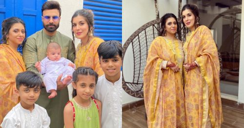Youtuber Rahim Pardesi Celebrating Eid with his Two Wives and Kids