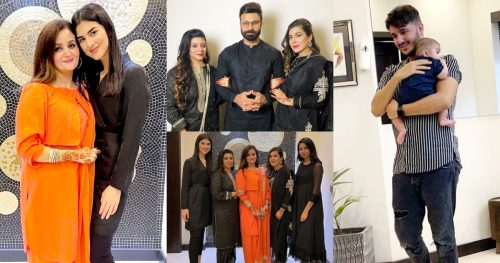 Youtuber Rahim Pardesi with his Family at Eid Dinner Hosted By Shahveer Jaffery