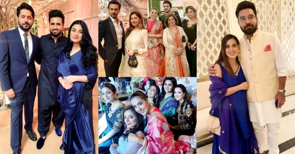 Beautiful Pictures of Celebrities  At Shahmir Shunaid's Reception