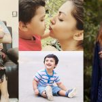 Actress Moomal Khalid Adorable Pictures with her Son