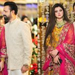 Latest Pictures of Atif Aslam with Wife Sara Bharwana at a Recent Event