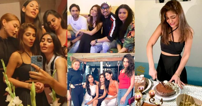 Ayesha Omar Birthday Party Pictures with Friends