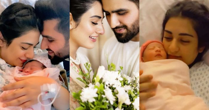 Falak Shabbir Shared his New Born Baby Girl Picture and Video