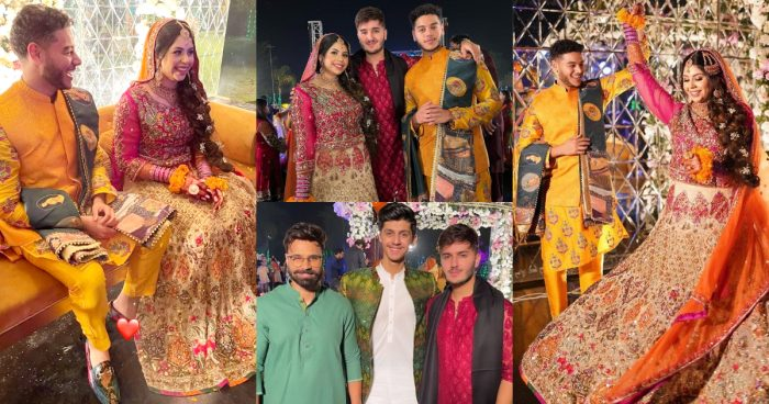 YouTuber Sunny Jafry's Mehndi Pictures