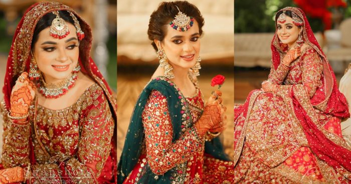Beautiful Pictures of Sumbul Iqbal and Kompal Iqbal from her Wedding